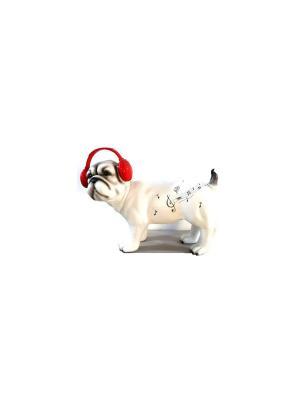 Фигура - Собака белая Marquis. Цвет: белый