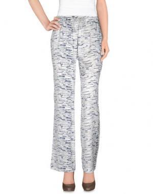 Повседневные брюки AMINA RUBINACCI. Цвет: синий