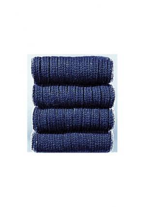Носки, 5 пар COTTON REPUBLIC. Цвет: 5х серый меланжевый, 5х темно-синий, 5х черный