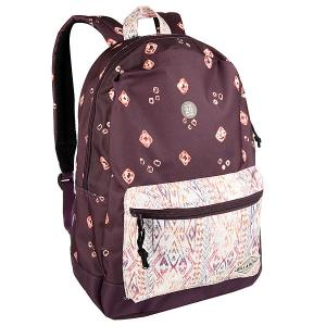 Рюкзак городской  Study Pinot Billabong. Цвет: бежевый,фиолетовый
