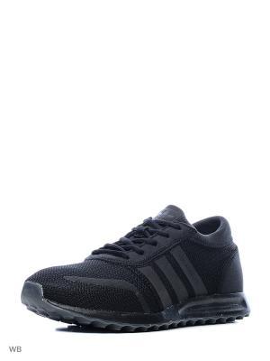 Кроссовки LOS ANGELES  CBLACK/CBLACK/CBLACK Adidas. Цвет: черный