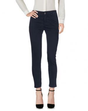 Повседневные брюки DIRTYPAGE. Цвет: темно-синий