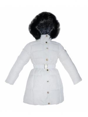 Пальто BORELLI. Цвет: белый