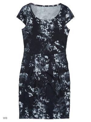 Туника платье ВАЛЕНТИНА СТИЛЬ. Цвет: черный