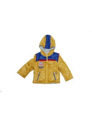 Куртка для мальчиков Pilota. Цвет: желтый