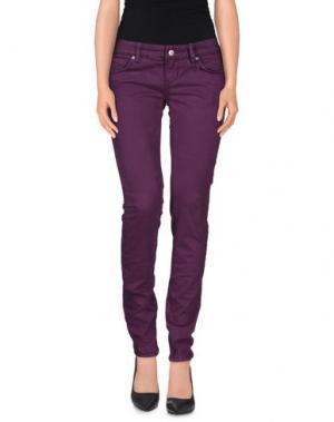 Повседневные брюки ZU+ELEMENTS. Цвет: фиолетовый