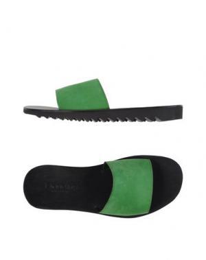 Сандалии DOUCAL'S. Цвет: зеленый