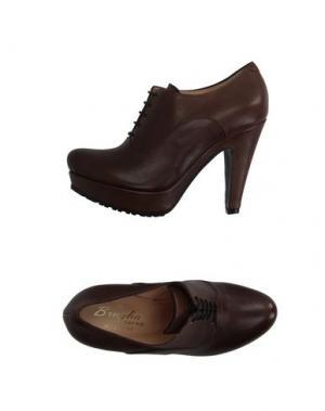 Обувь на шнурках F.LLI BRUGLIA. Цвет: какао