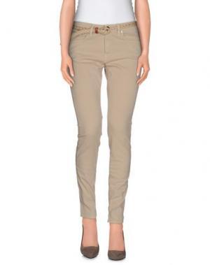 Повседневные брюки SFIZIO. Цвет: бежевый