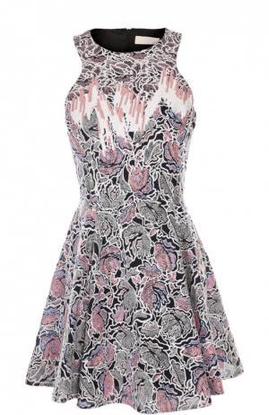 Платье Peter Pilotto. Цвет: розовый