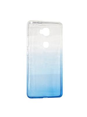 Крышка задняя для Huawei 5X Силикон IQ Format. Цвет: синий