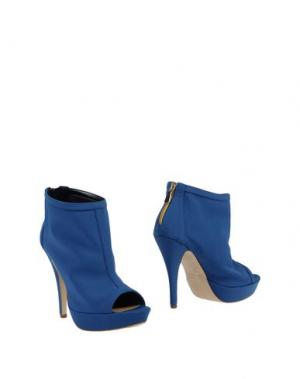 Ботинки LA FILLE des FLEURS. Цвет: грифельно-синий