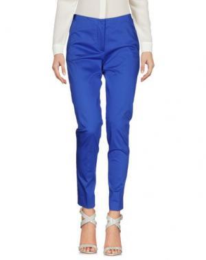 Повседневные брюки ANTONELLI. Цвет: синий