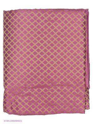 Покрывало Violet collection! 220х240 см  с декоративными наволочками 50х70 2 шт T&I. Цвет: фиолетовый