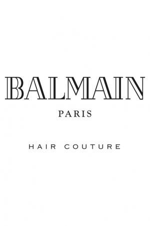 Белая косметичка со средствами для ухода Balmain Paris Hair Couture. Цвет: multicolor
