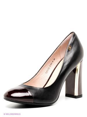 Туфли Sinta Gamma. Цвет: черный, бордовый