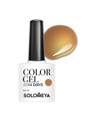 Гель-лак Solomeya Color Gel Lenuta SCG143/Ленута. Цвет: темно-бежевый