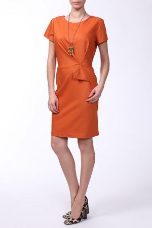 Платье Asil. Цвет: оранжевый
