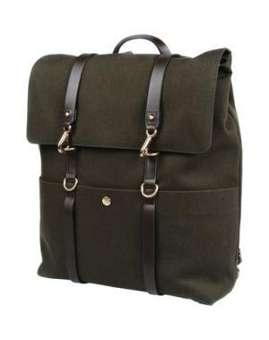 Рюкзаки и сумки на пояс MISMO. Цвет: темно-зеленый