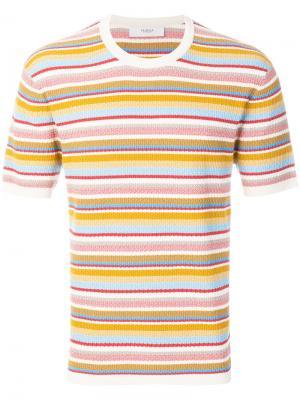 Полосатая футболка Pringle Of Scotland. Цвет: многоцветный