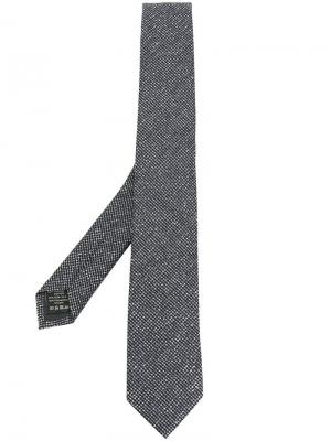 Плетеный галстук Z Zegna. Цвет: серый