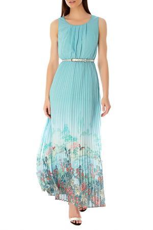 Платье Uttam Boutique. Цвет: голубой