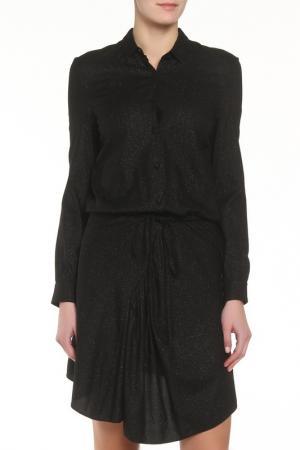 Платье Zadig&Voltaire. Цвет: черный
