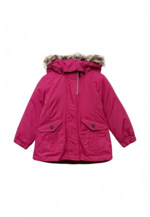 Куртка утепленная Lassie. Цвет: фуксия