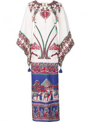 Платье Alexandra Figue. Цвет: белый