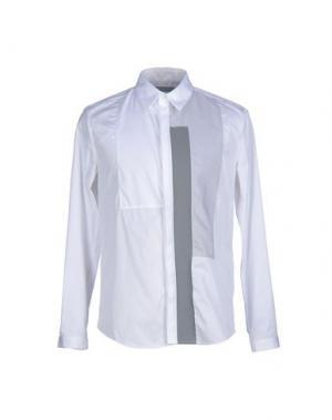 Pубашка RICHARD NICOLL. Цвет: белый