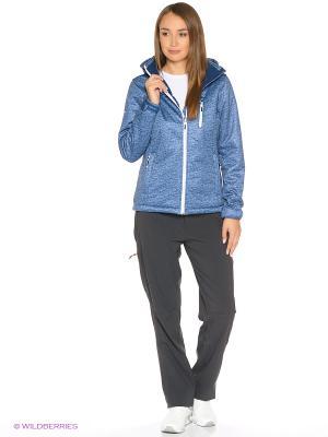 Женские брюки Radder. Цвет: серый