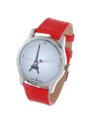 Часы Mitya Veselkov Париж. Цвет: красный