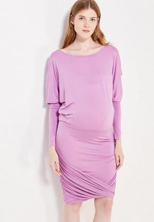 Платье 9fashion Woman. Цвет: фиолетовый