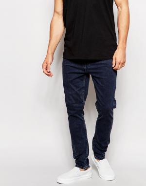 Zee Gee Why Синие джинсы скинни с заниженным шаговым швом