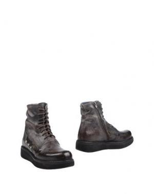 Полусапоги и высокие ботинки BLACKMAIL. Цвет: темно-коричневый