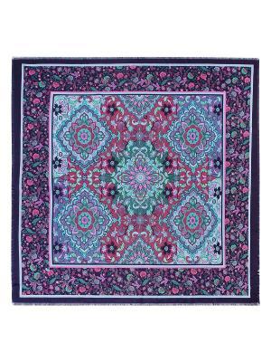 Платок Labbra. Цвет: темно-фиолетовый, лиловый, светло-голубой
