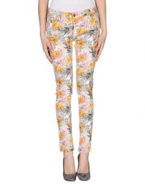 Повседневные брюки REIKO. Цвет: светло-серый
