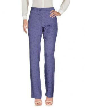 Повседневные брюки RICHARD NICOLL. Цвет: фиолетовый