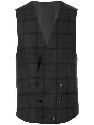 Пиджак с застежкой на одну пуговицу Corneliani. Цвет: серый