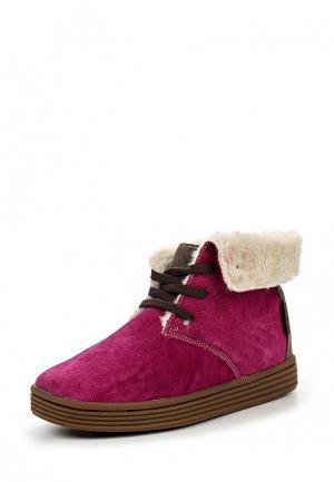 Ботинки Beppi. Цвет: фуксия