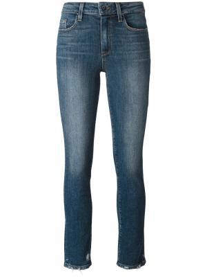 Узкие джинсы Julia Paige. Цвет: синий