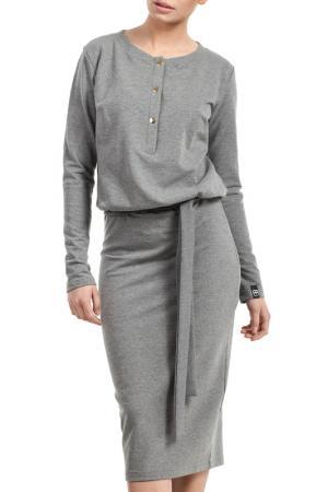 Dress BeWear. Цвет: grey