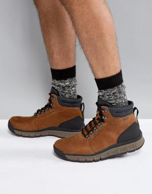 Clarks Originals Походные ботинки Edlund. Цвет: рыжий