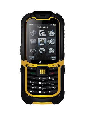 Телефон Senseit P3. Цвет: зеленый