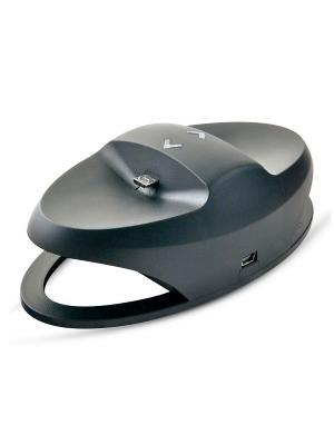 Зарядная станция для двух джойстиков Playstation 4 Belsis. Цвет: черный