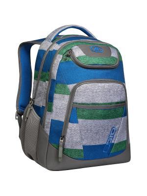 Рюкзак TRIBUNE PACK Ogio. Цвет: синий, зеленый, серый