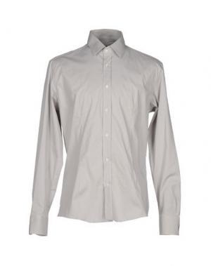 Pубашка GREY DANIELE ALESSANDRINI. Цвет: серый