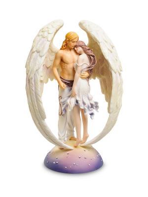 Статуэтка Ангел-хранитель Veronese. Цвет: бежевый, белый