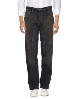 Джинсовые брюки FIRETRAP. Цвет: хаки