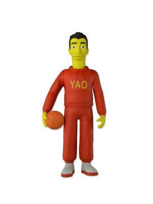 Фигурка The Simpsons 5 Series 1 - Yao Ming Neca. Цвет: красный